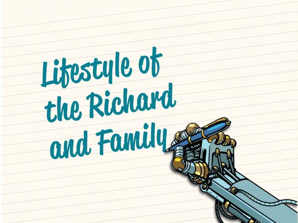 Company of Fools Lifestyle of the Richard and Family