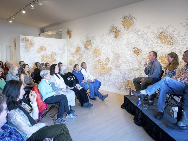 Panel Discussions at Sun Valley Museum of Art - Bees BIG IDEA project