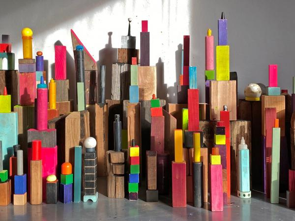 tucker nichols - Boomtown as part of Free Play BIG IDEA project at Sun Valley Museum of Art