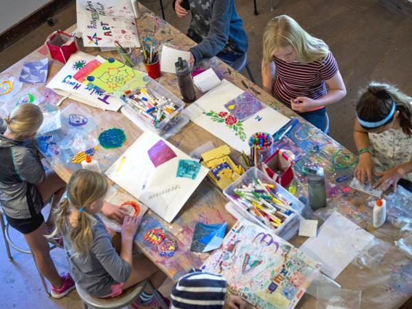 YOUTH PROGRAM: Middle School Summer Art Week