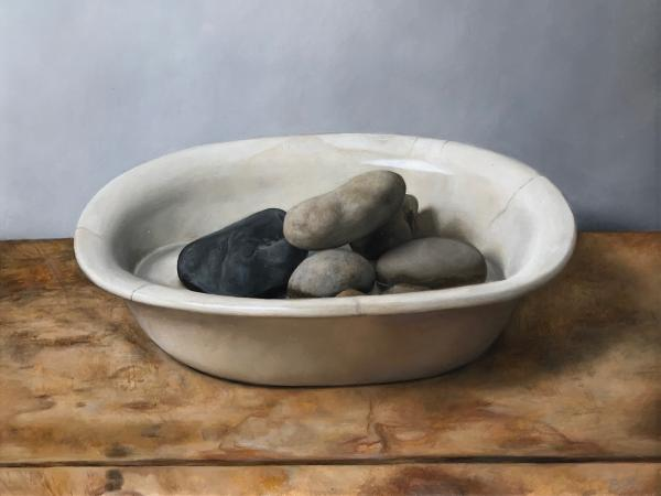 CREATIVE JUMP-IN: Sun Valley Stones—Oil painting with Sarah Bird