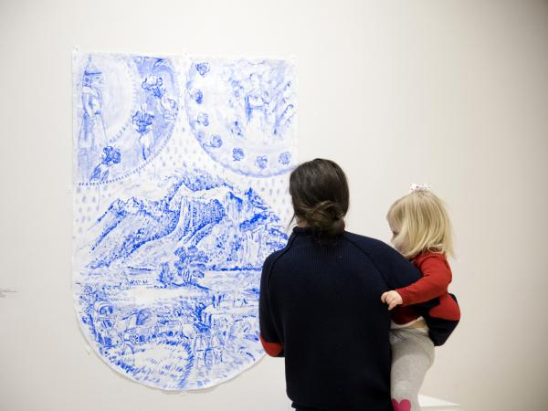 FAMILY PROGRAM: Afternoon Art (for families with kids ages 5–12)
