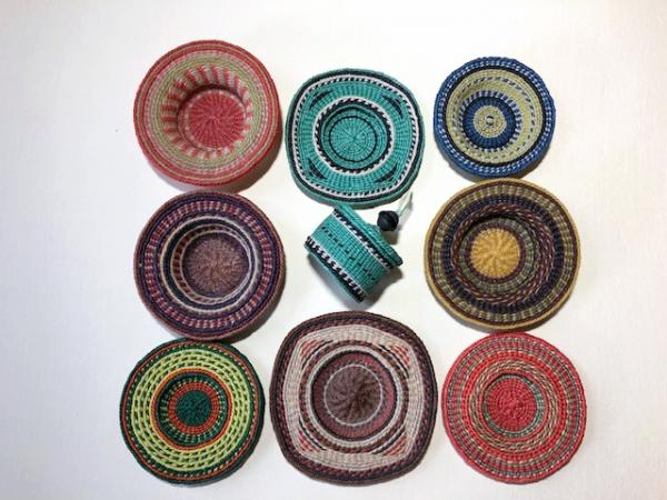 Woven Baskets by Sally Metcalf presented by Sun Valley Museum of Art
