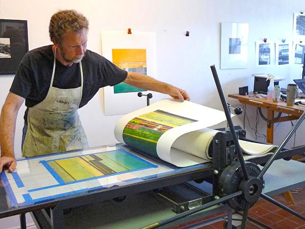 Intro to Monotype—Painterly Printmaking with Jeff Juhlin at Sun Valley Museum of Art